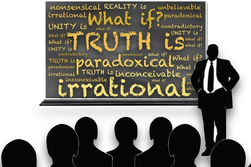 Spirit Irrational Paradox Truth Absolute Reality
