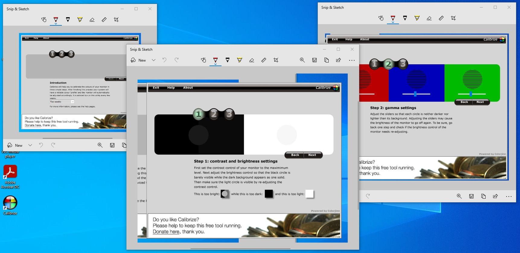 calibrarea reglarea culorilor unui monitor